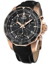 Vostok Europe N1 Rocket Chrono Line Leather strap [6S30/2259179]